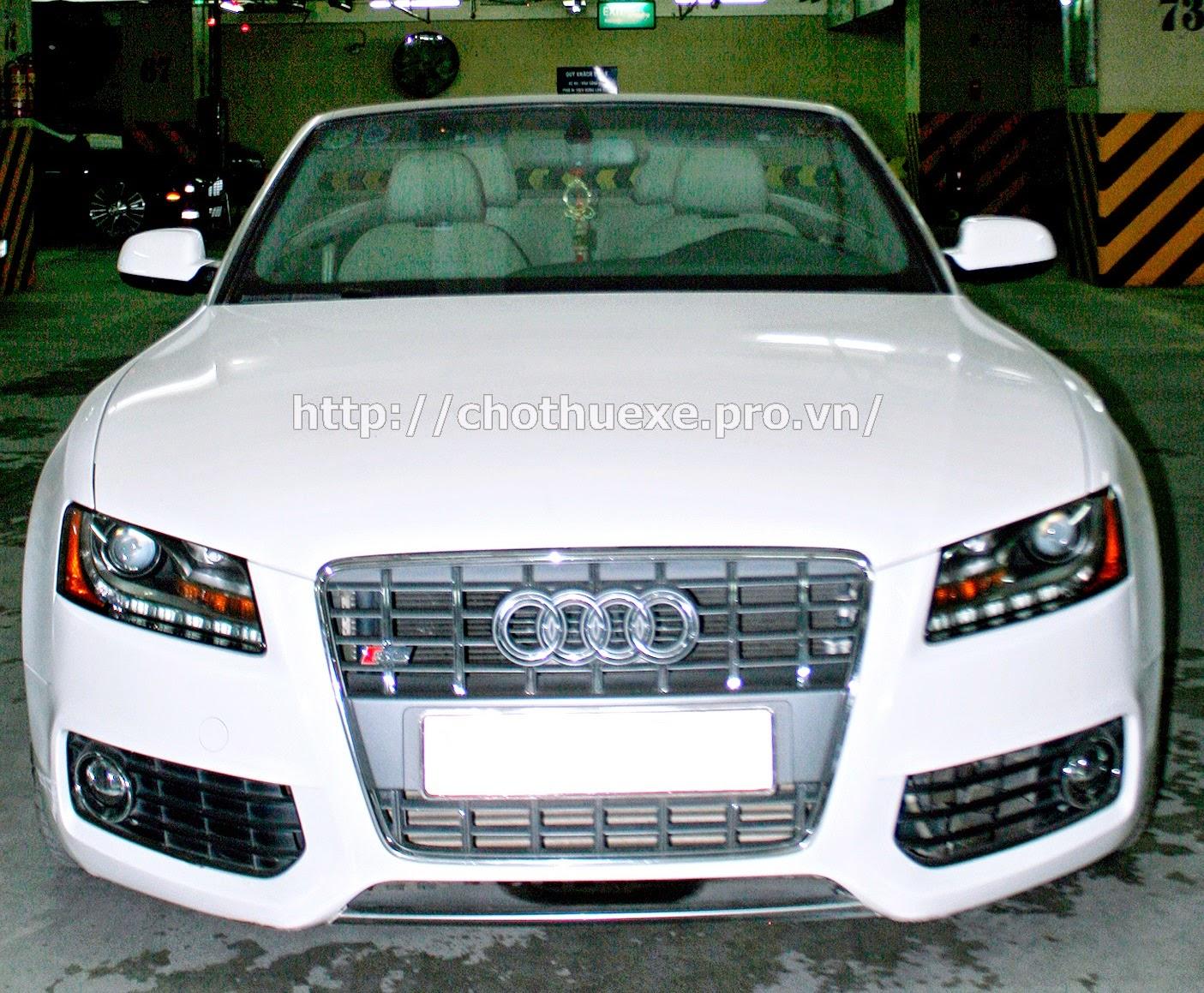 Cho thuê siêu xe Audi S5 1