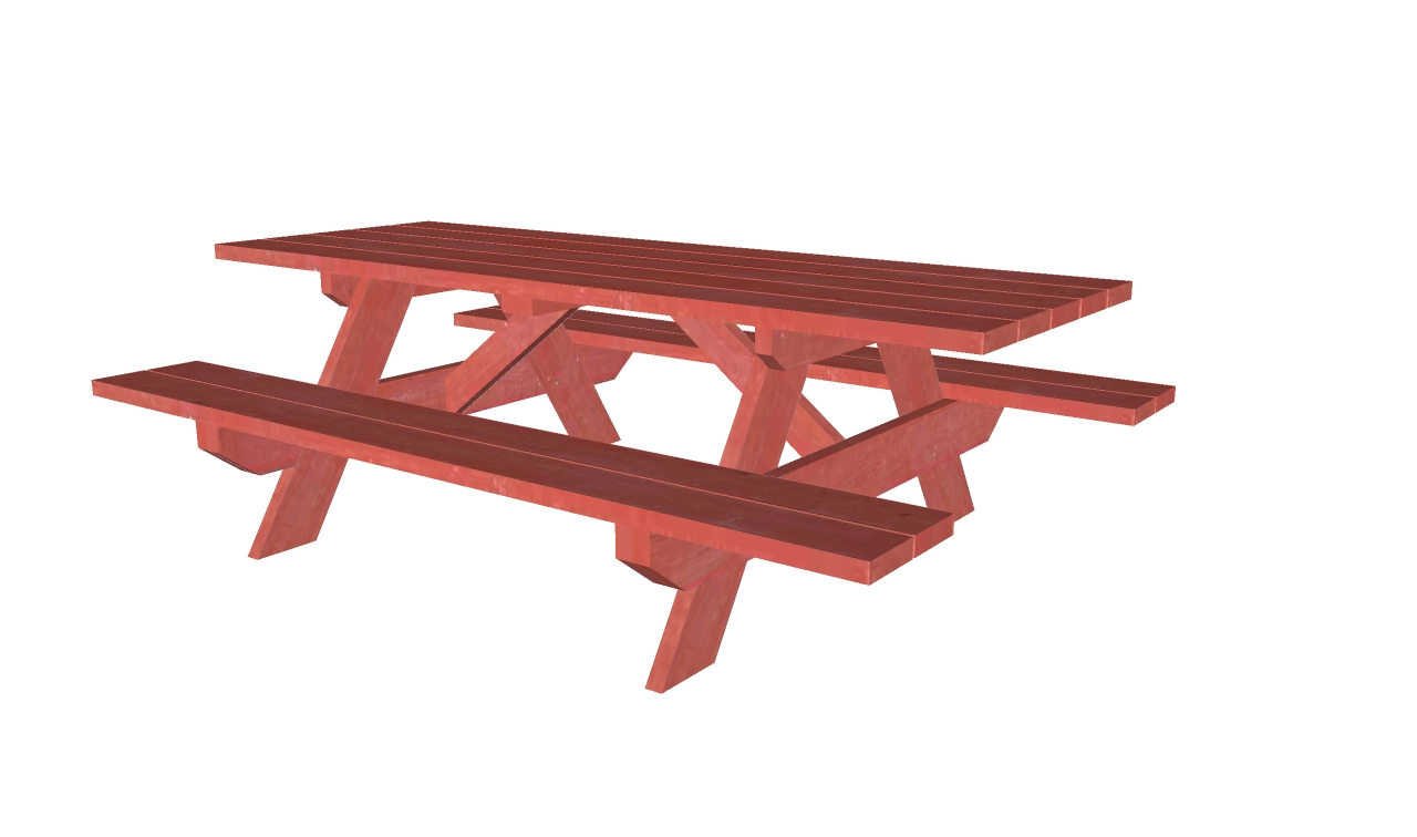 Picnic Table Plans: Picnic table designs