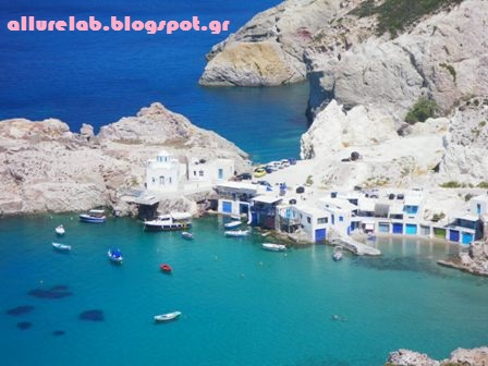 milos, greece, travel, allure lab
