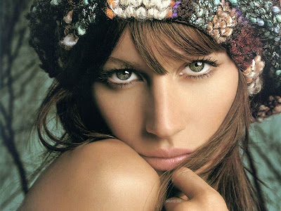 Gisele Bundchen Beautiful Eyes