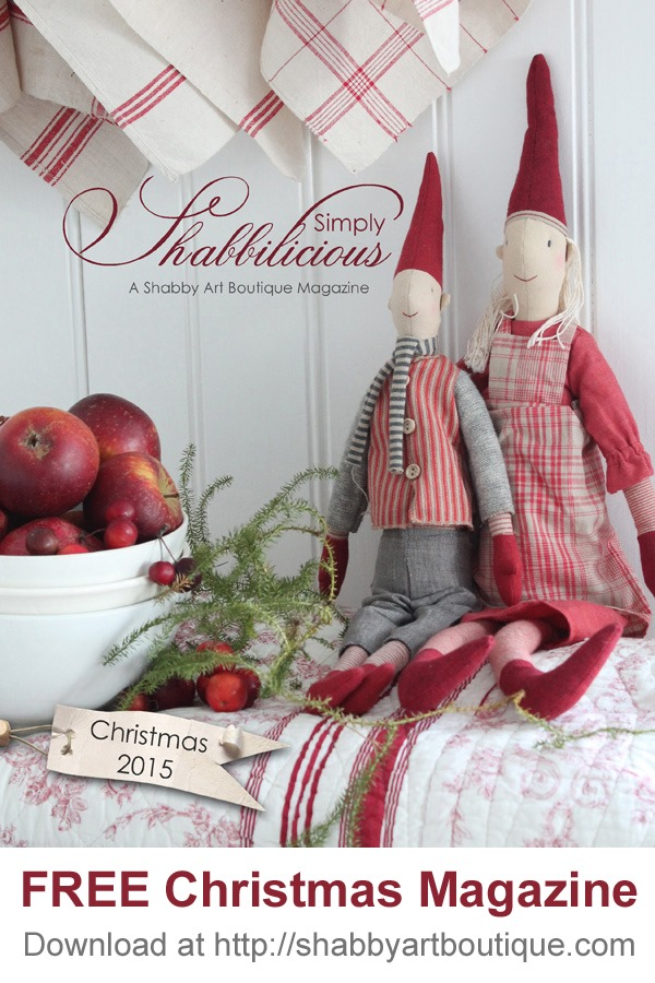 Published In Shabby Art Boutique's 2015 Christmas Issue