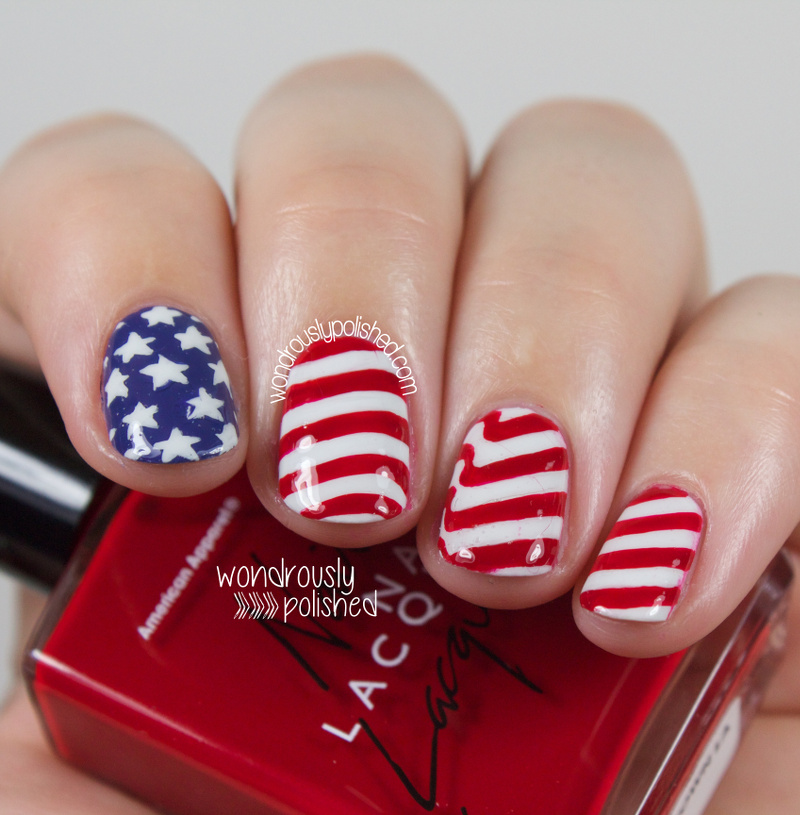 Wondrously Polished: Happy Fourth of July! - American Flag inspired ...