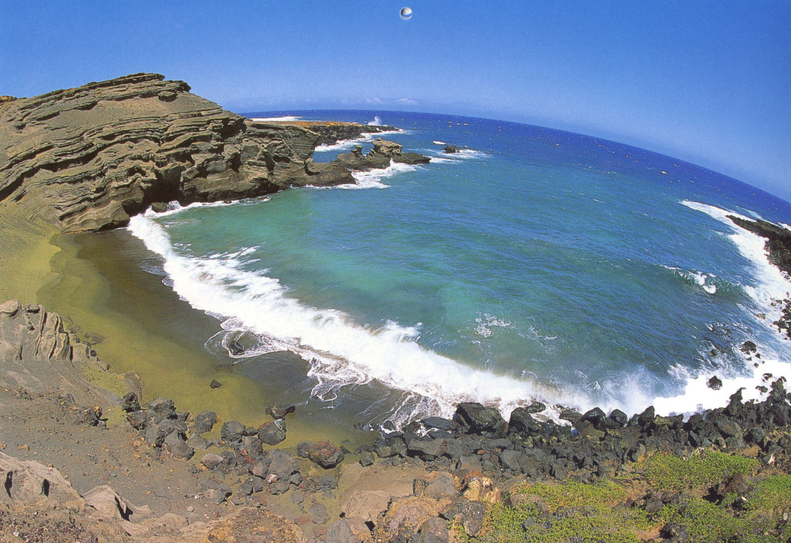 Papakolea Beach – Hawaii