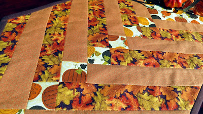 Gorgeous fall fabrics with glitter!