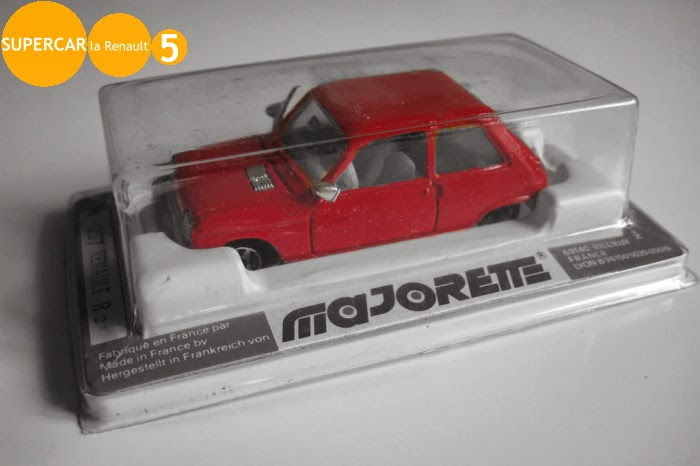 blog tout sur la renault 5 les voitures miniatures majorette en deuil. Black Bedroom Furniture Sets. Home Design Ideas