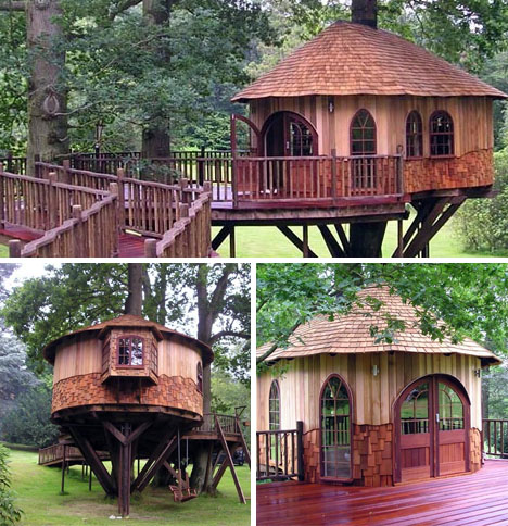 creating a unique home treehouses