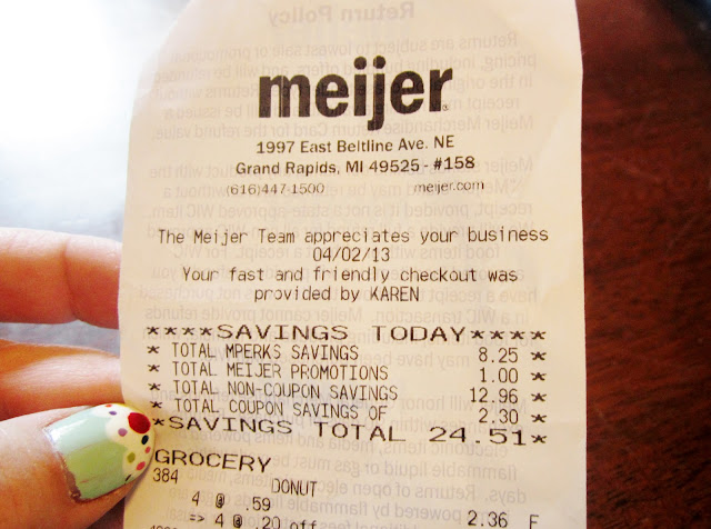Meijer mPerks savings