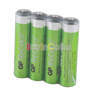 4 PCS Hi-power GP Recyko 820mAh 1.2V Ni-MH NIMH Rechargeable AAA Battery #2