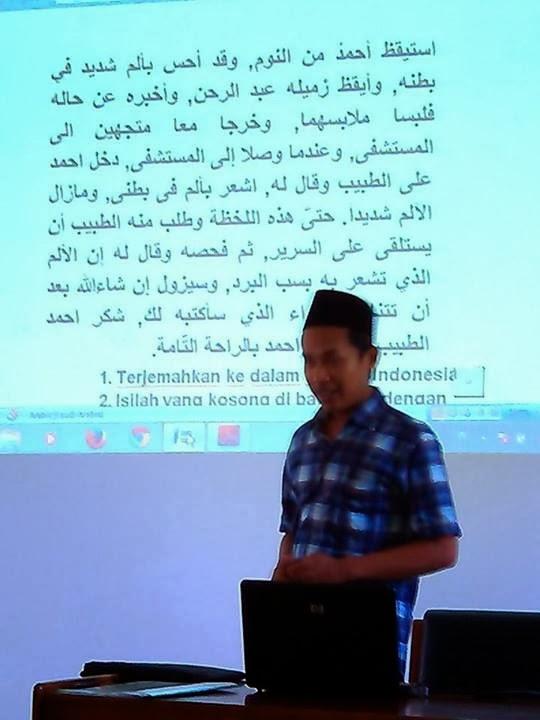 Sedang Mengajar