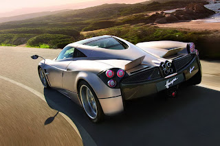 2012 Pagani Huayra has a 1350 Kg dry weight
