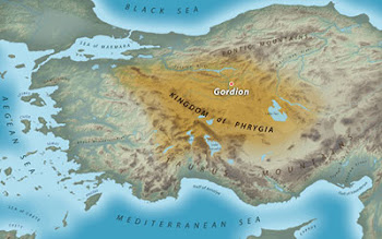 The site of Ancient Gordion