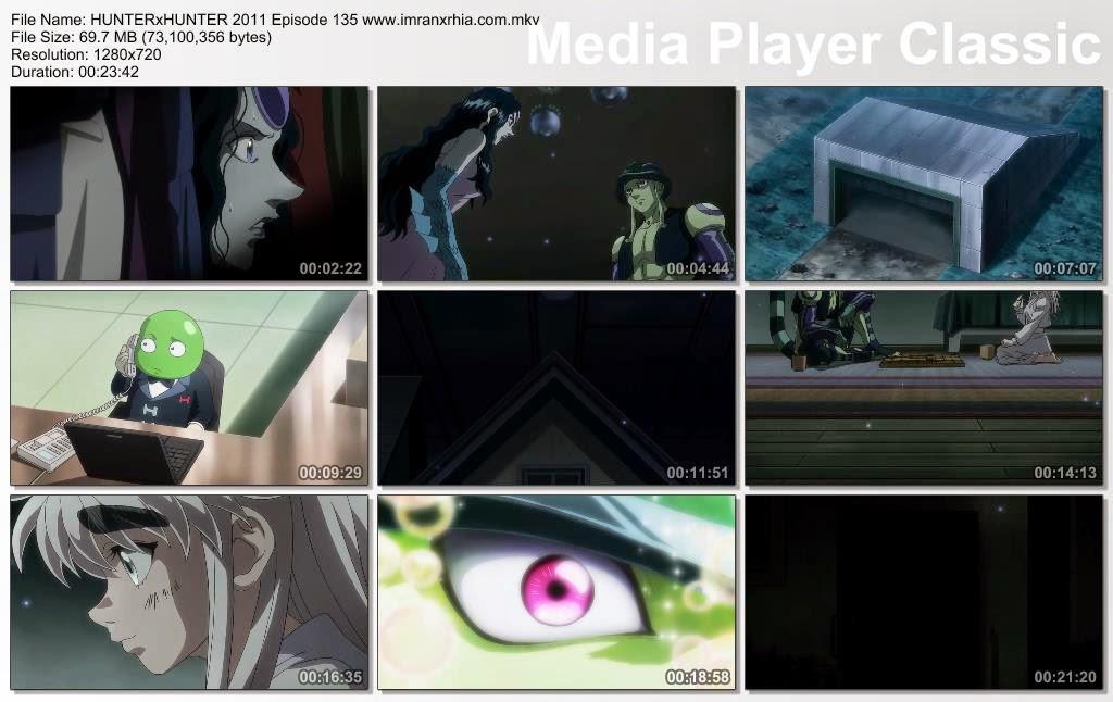 """Download Film / Anime Hunter x Hunter 2011 Episode 135 """"Orang Ini dan Kondisi Ini"""" Bahasa Indonesia"""
