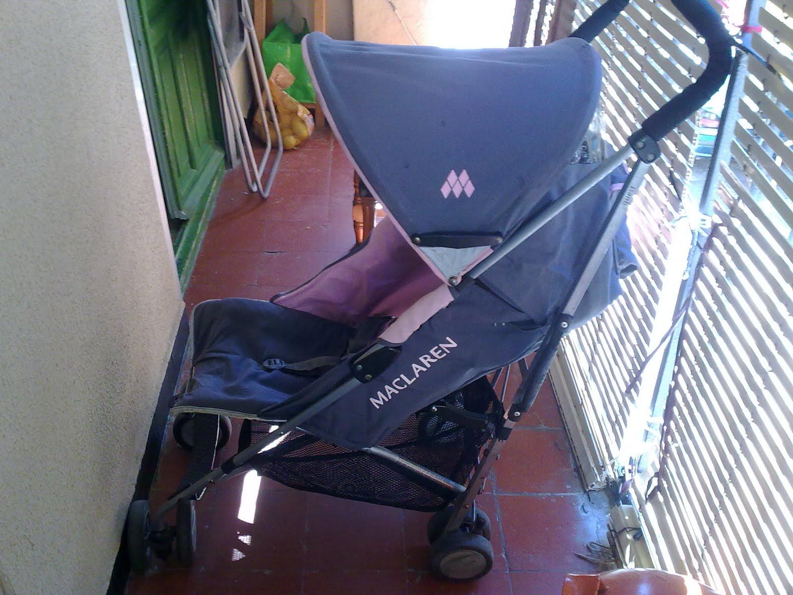 Coches manuales silla maclaren segunda mano for Silla de paseo segunda mano