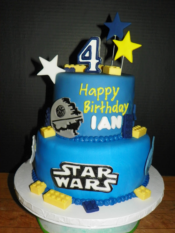 Plumeria Cake Studio Star Wars Lego Birthday Cake