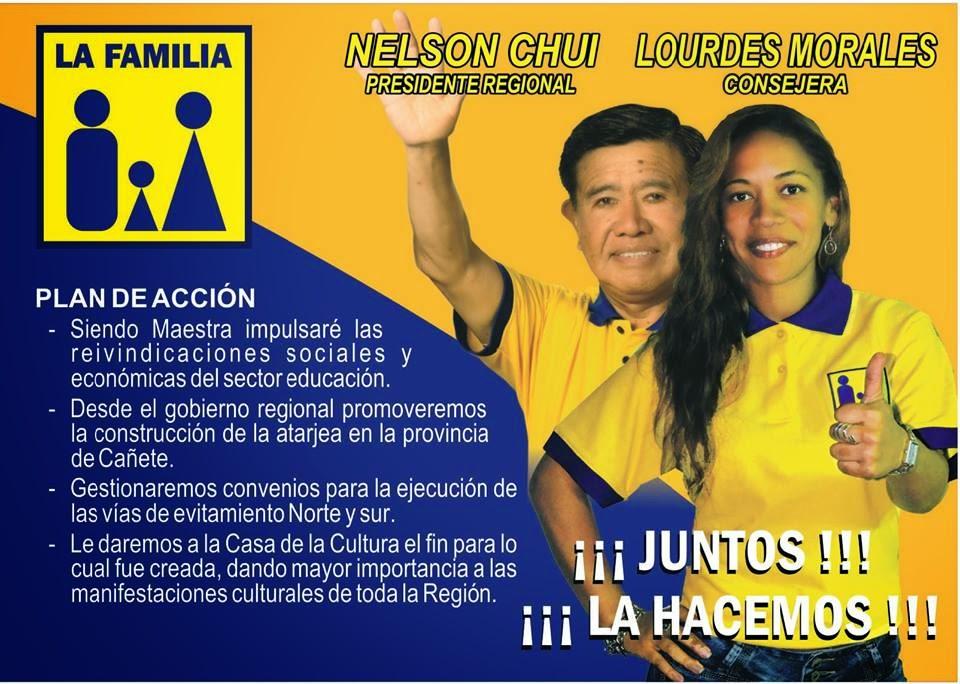 LOURDES MORALES - CONSEJERA REGIONAL DE CAÑETE