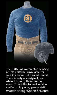 Green Bay Packers 1929 uniform