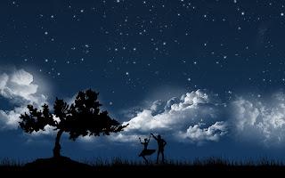 dance in moonlight
