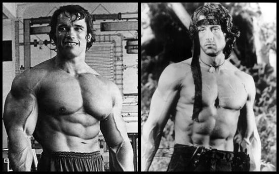 Arnold Schwarzenegger Vs Sylvester Stallone