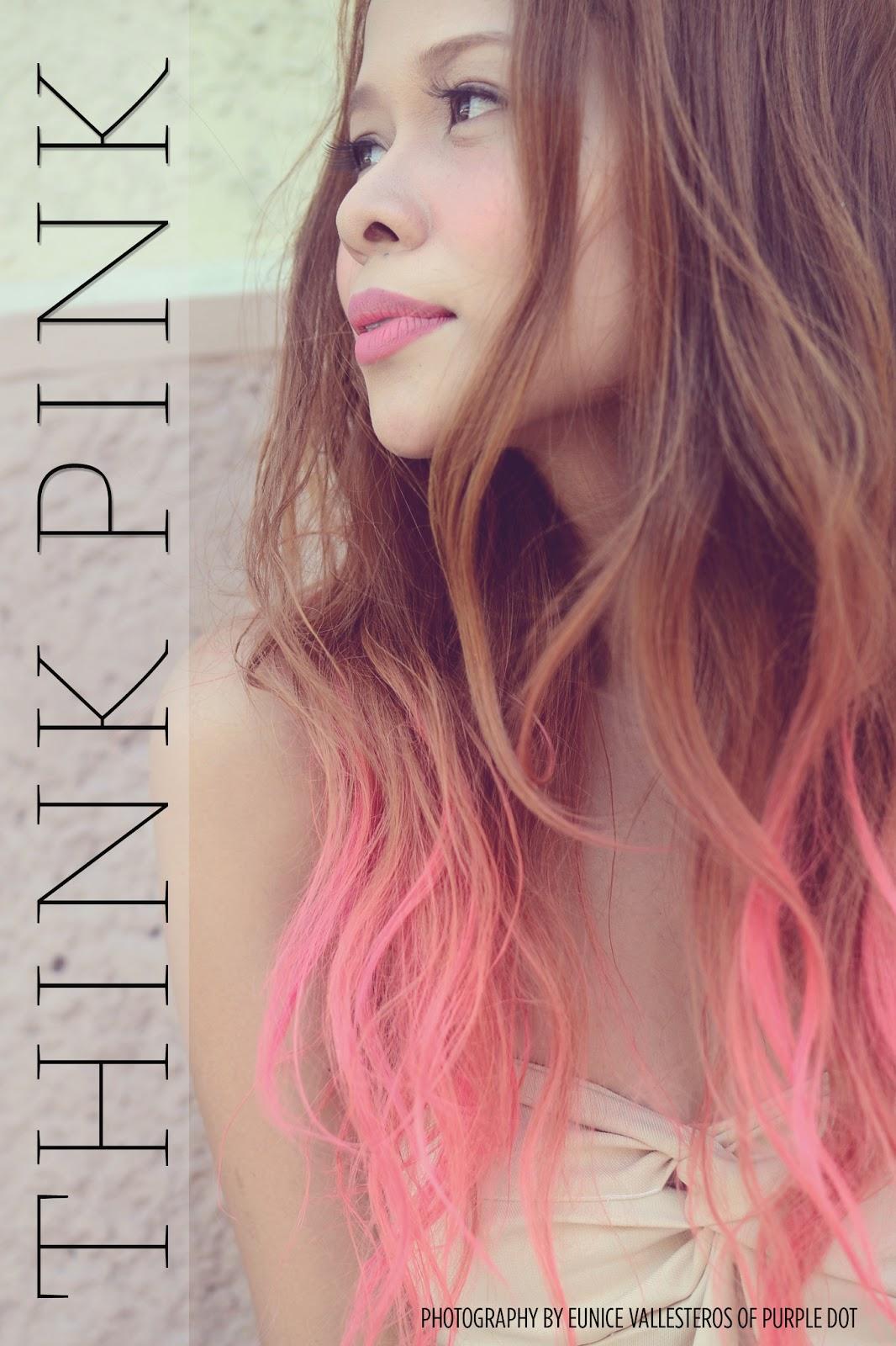 Mermaid In Heels Hair Chronicles Think Pink