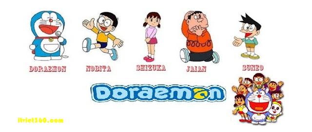 Ảnh bìa Doremon cho Facebook - Cover FB timeline