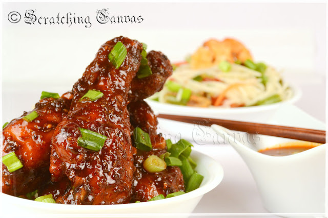 healthy chinese chicken drumsticks
