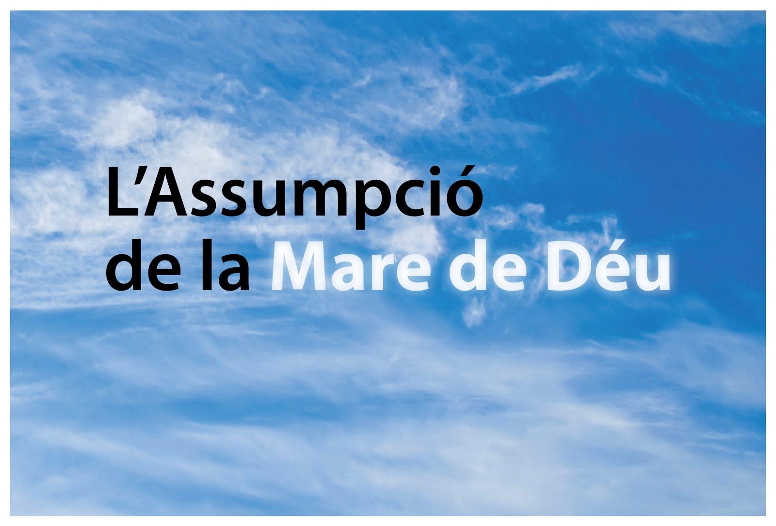 ASSUMPCIÓ DE LA MARE DE DÉU 2016