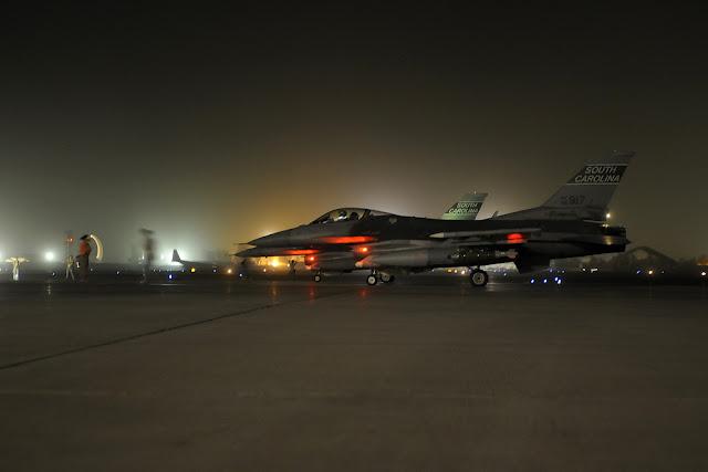 f-16 solo night
