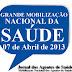 Mobilização Nacional dos Agentes de Saúde!!!
