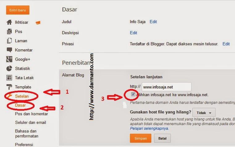 Cara Mudah Mengatasi Domain  Error Tanpa WWW