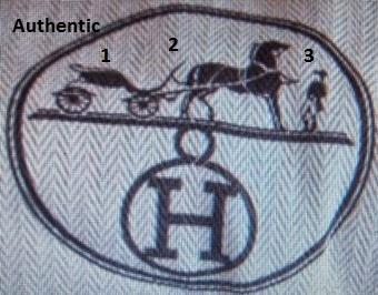 hermes bag with logo