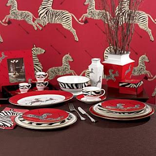 Scalamandre by Lenox Zebras 5-Piece Place Setting