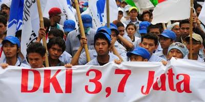 Buruh DKI Tuntut UMK 2014 sebesar 3,7 Juta rupiah