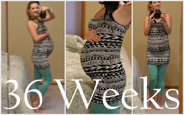 baby bump 36 weeks pregnant picture