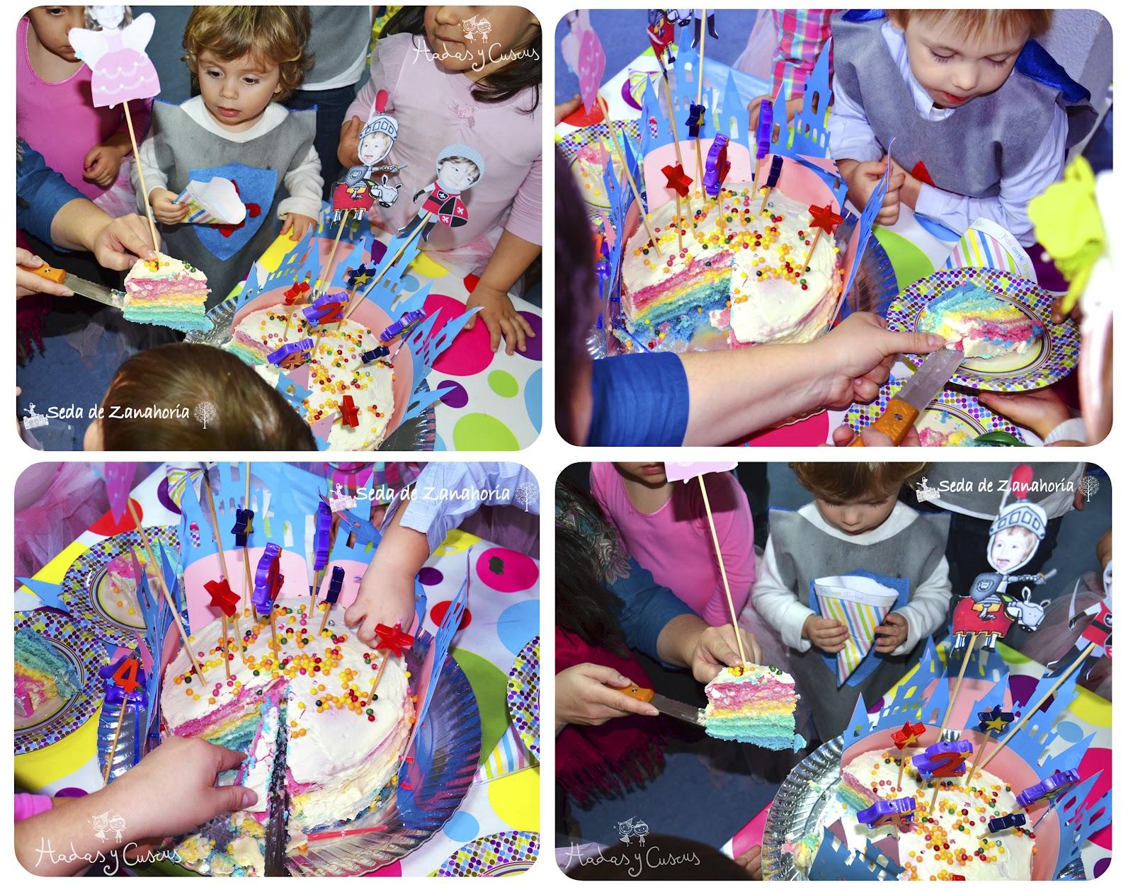 Rainbow Cake Les Etage Tombe Comment Le Faire Tenir