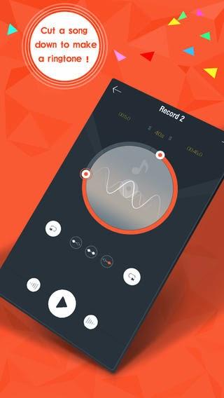 تطبيق مجاني لإنشاء وصناعة نغمات الرنين بسهولة للأيفون والايباد والايبود