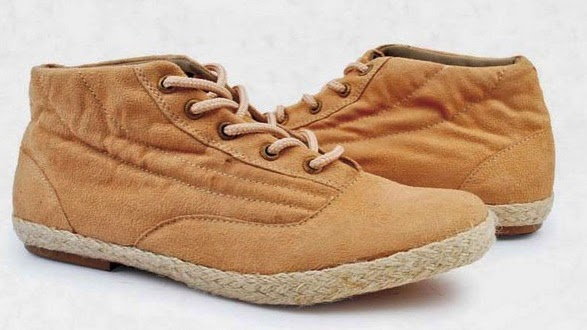 Sepatu Flat Coklat Muda Hazzel