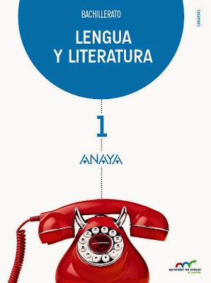LIBROS DE TEXTO - Lengua y Literatura 1 Bachillerato (Anaya - 2015) MATERIAL ESCOLAR | Comprar en Amazon