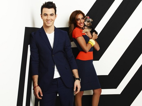Kevin and Dani Jonas