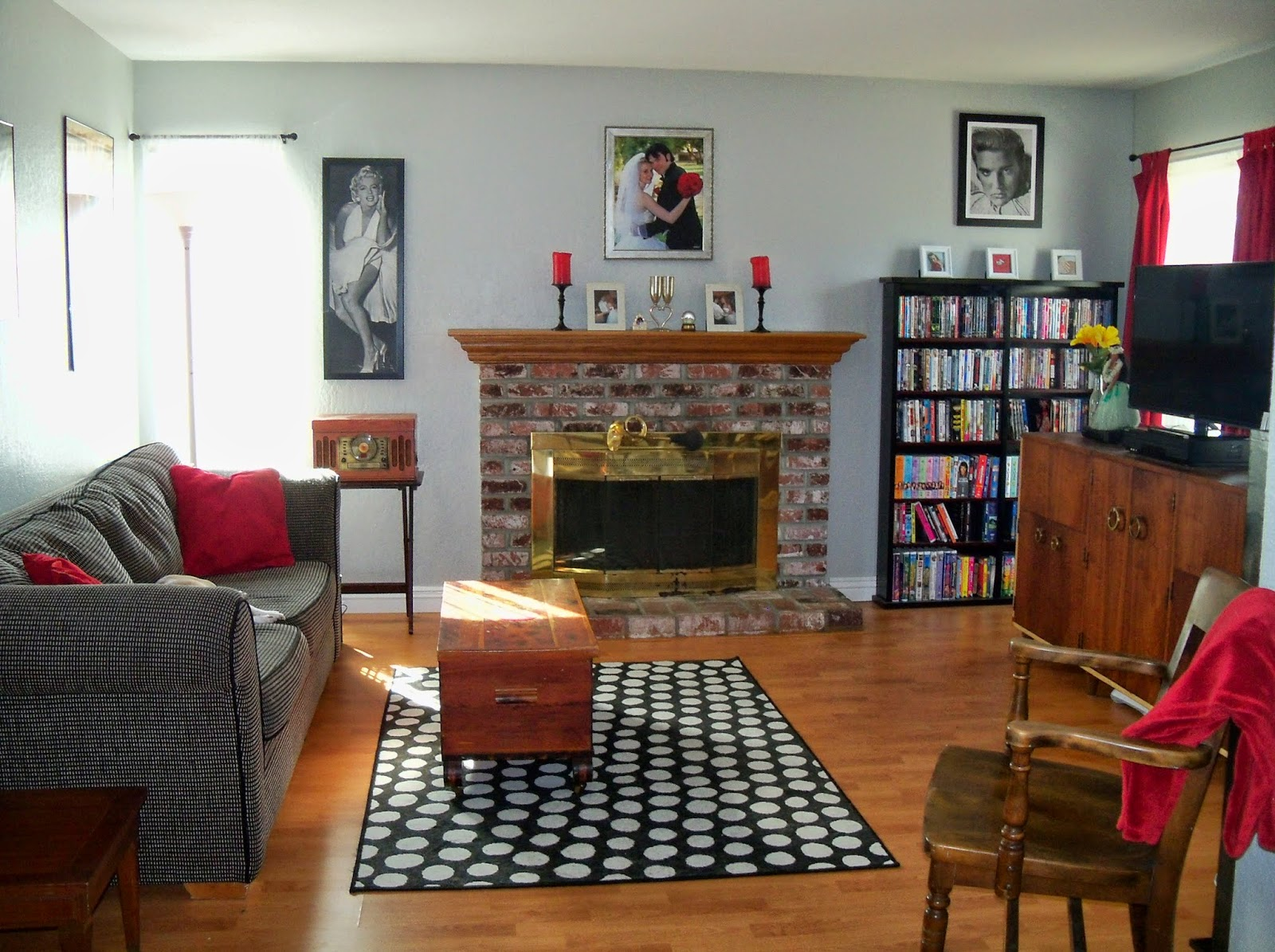 My Childhood Home, Furnished by Craigslist: The Living Room