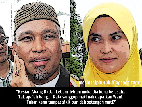 Dibelasah 20 lelaki.... Badrul Amin dicabar buat laporan polis