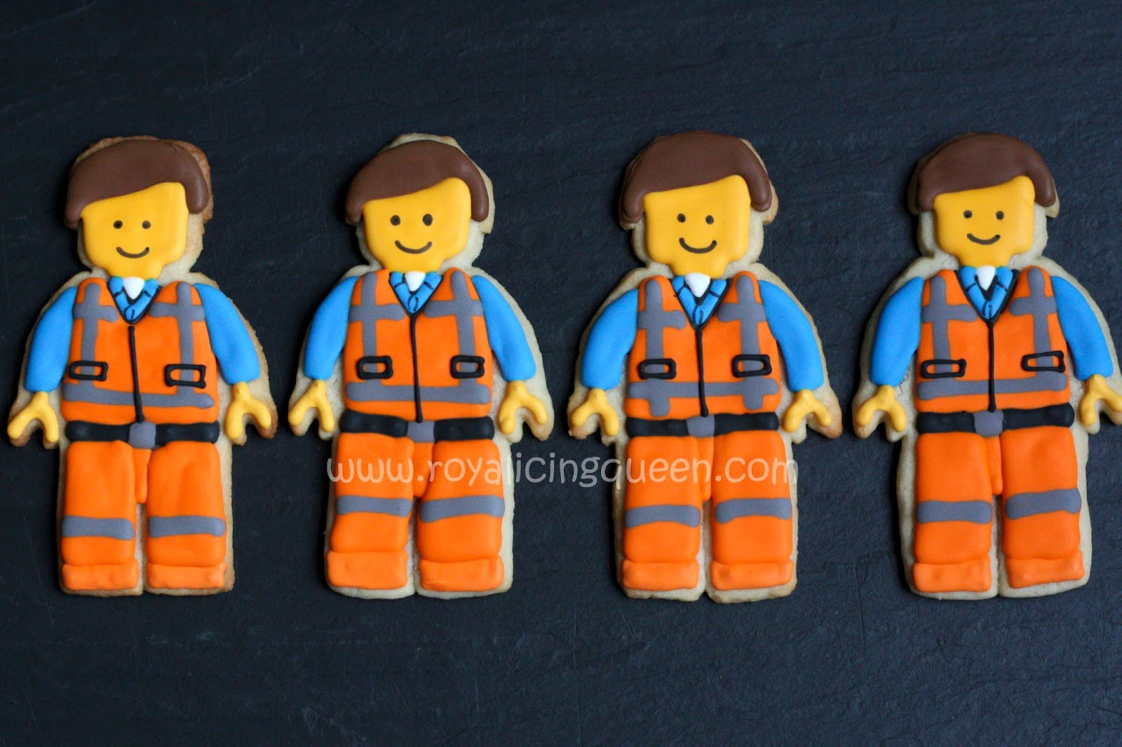 The Royal Icing Queen Lego Movie Cookies