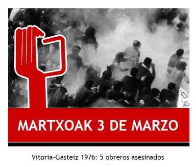 Martxoak 3 de Marzo Vitoria-Gazteiz