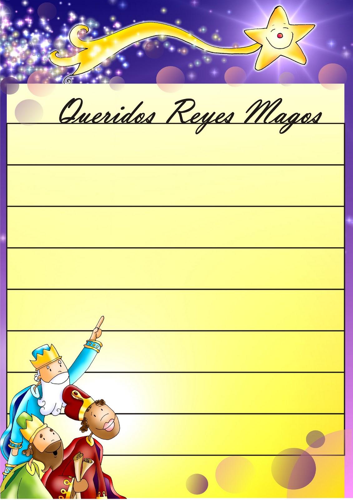 Recursos para mi clase: Carta Reyes Magos