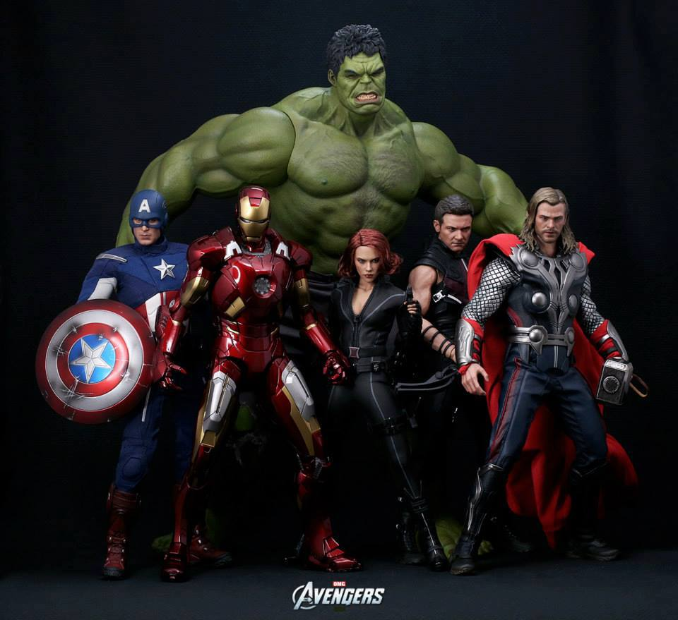 The Crusader's Realm: The Avengers: Hot Toys completes The ...