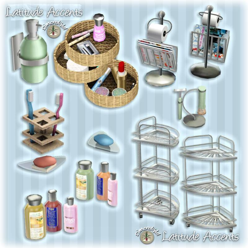 My Sims 3 Blog Latitude Bathroom Set And Accents By