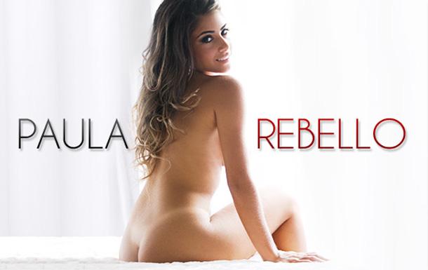 Paula Rabelo nua em ensaio sensual