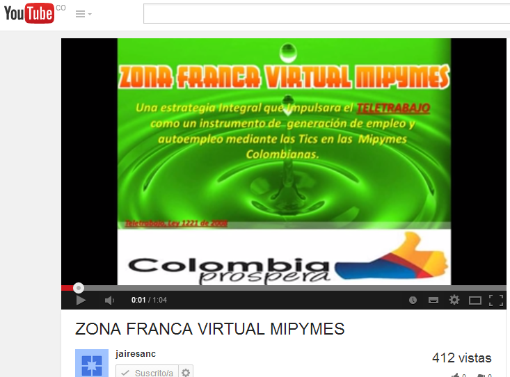 ZONA FRANCA VIRTUAL MIPYMES ......  https://www.youtube.com/watch?v=XPl_jhroTqc