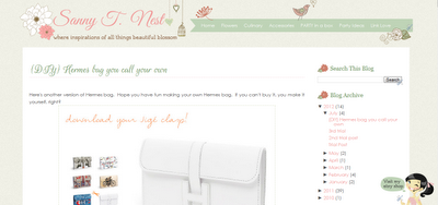 sanny t blogger template design ipietoon cute blog design. Black Bedroom Furniture Sets. Home Design Ideas