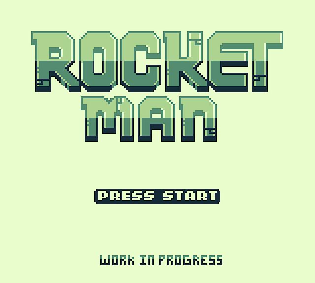 Rocket Man, otro juego español en desarrollo para Game Boy