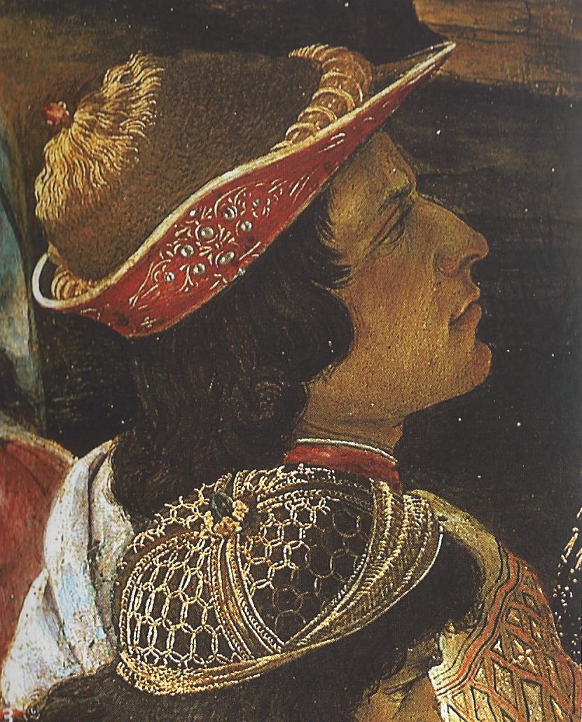 ¿Quiénes son los personajes del cuadro 'La adoración de los Reyes Magos'? Sandro Boticelli, 1475 Lorenzo+el+magnifico